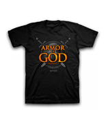 "Christian Mens T-Shirt ""ARMOR OF GOD"" by Keruss... - $17.99 - $21.99"