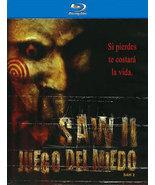 SAW II: JUEGO DEL MIEDO (Blu-ray, 2009) Spanish Language - $7.96