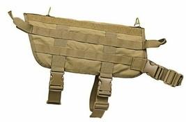 VISM K9 Tactical Dog Vest LARGE Survival Gear Harness TAN~ - $26.64