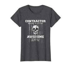 Uncle Shirts -   American Funny Contractor Shirt USA Construction Building Wowen - $19.95+