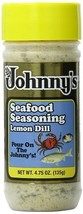 Johnny's Lemon Dill (Original Seafood Seasoning) 4.75oz bottle - $7.44