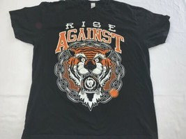 Rise Against Tiger Bomb T-shirt XXL No Fade - $14.24