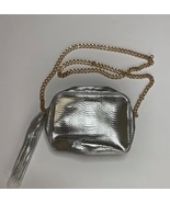 Victoria's Secret Silver crossbody bag New  - $50.00