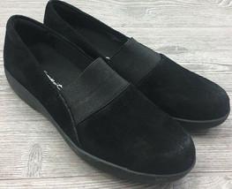 Easy Spirit Karantia Slip On Suede Black Size 8.5 women's ( #1610 ) New - $47.50 CAD