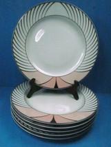 "Royal Mosa Holland 10 1/2"" Dinner Plates Set Of 6 Plates - $38.31"