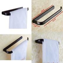 ElloAllo Oil Rubbed Bronze Towel Bars For Bathroom Accessories Wall Moun... - $24.74