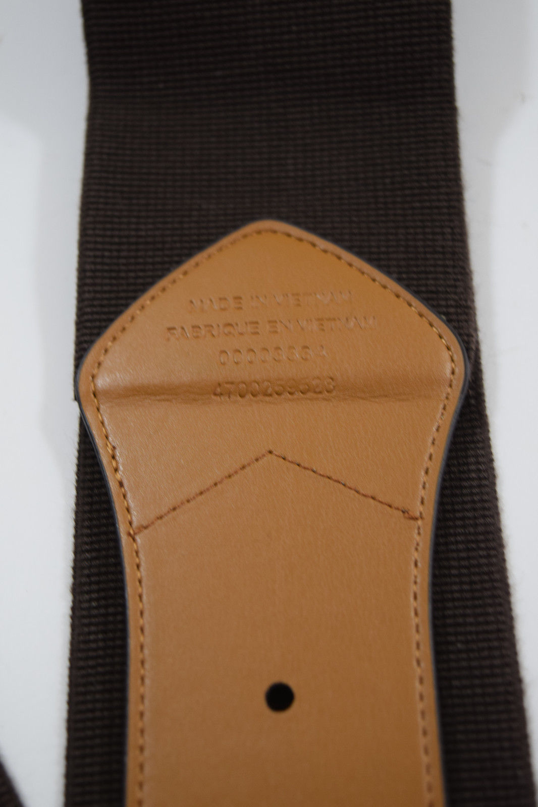 $48 Lauren Ralph Lauren Wide Stretch Belt Size XL in Chocolate