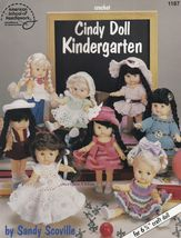 "Cindy Doll Kindergarten, Crochet 6-3/4"" Doll Clothes Pattern Booklet  ASN 1187 - $7.95"