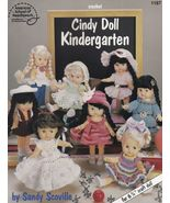"Cindy Doll Kindergarten, Crochet 6-3/4"" Doll Clothes Pattern Booklet  AS... - $7.95"