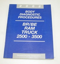 2002 Dodge Ram Truck Body Diagnostic Procedures Manual Good Used Condition - $14.80