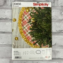 Simplicity Sewing Pattern D0856 Christmas Tree Skirt Stocking Gift Bag N... - $7.80