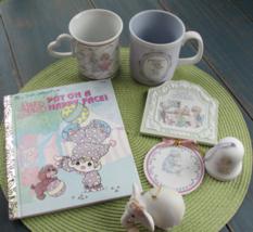 Precious Moments Coffee Mug Ornament Book Elephant Valentine Graduate MIxed Lot - $7.99
