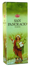 Hem Incense San Pancracio Bulk 6 x 20 Stick = 120 Sticks Wicca Free Ship... - $7.93