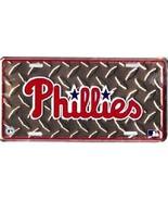 Philadelphia Phillies MLB Diamond Plate License Plate - $8.86