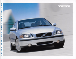 2002 Volvo S60 sales brochure catalog US Canada 02 2.4T T5 AWD - $8.00