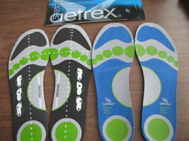 2 Pairs AETREX Inserts Mozaic & Pressure Relief Diabetes Mens Sz. 11-SEE... - $18.37