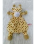 "14"" Wubbanub Buttercup Giraffe Baby Lovey & Security Blanket Yellow Tan B57 - $9.99"