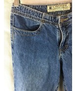 American Eagle Size 0 Women Blue Jeans Boot Cut Lightly Distressed Insea... - $19.75