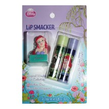 LIP SMACKER* 3pc Set MAGICAL WONDERS DUO Balm+Topper Keychain TIANA+ARIE... - $5.99