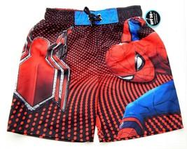 Spider-Man Ceremonia Upf-50 + Pantalones Cortos de Baño Traje Niños Tall... - $15.69