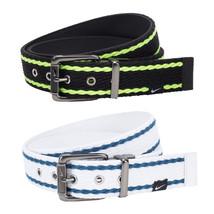 Nike Web-To-Leather Reversible Golf Belt, Black White - $40.00