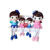 George Jimmy Creative Home Decorations Cute Cartoon Lovers Desktop Decorations C - $36.18
