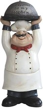 Chef holding Welcome to My Kitchen Tray Figurine - £20.28 GBP