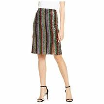 INC Women's Rainbow Sequin Skirt (Multicolor, M) - $20.54