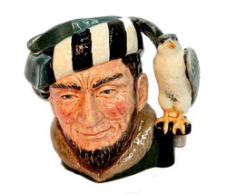 "Royal Doulton Miniature Toby Mug ""The Falconer"" D6547 - $18.95"