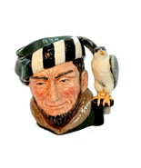 "Royal Doulton Miniature Toby Mug ""The Falconer"" D6547 - $18.95"