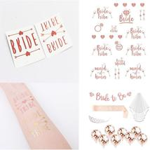 Multiple Styles Temporary Gold Foil Tattoo Stickers Wedding Bride - $1.99