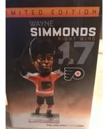 NIB Wayne Simmonds Bobblehead Philadelphia Flyers LIMITED EDITION R Wing... - $24.99