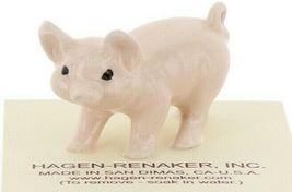 Hagen Renaker Miniature Farm Pig Pink Walking Ceramic Figurine image 8