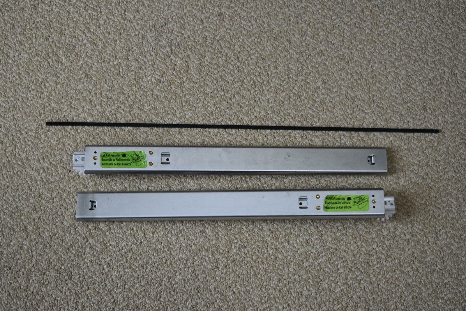 Primary image for Kenmore/LG Stainless Steel freezer Door rail assembly MGT61844002 & MGT61844001