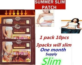 30 X Slim Patch Slimming Belly Thighs Arms Love handles Patches 1 month supply! - $7.75