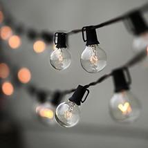 String Lights, Lampat 25Ft G40 Globe String Lights with Bulbs-UL Listd f... - $19.93