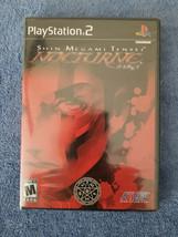 2004 Shin Megami Tensei: Nocturne  (PS2 / PlayStation 2) Black Label 1st Edition - $27.00