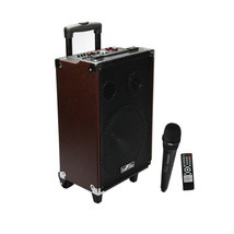 beFree Sound 10 Inch 500 Watt Bluetooth Portable Speaker with USB, SD, M... - $117.88