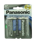 Panasonic Batteries D 2-Pack Super Heavy Duty Batteries   - $6.29
