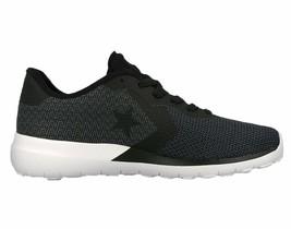 Mens Converse Auckland Modern OX Black Dark Grey White 155036C - $64.99