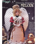 Melody Heavenly Messengers Angel Plastic Canvas PATTERN/INSTRUCTIONS - $2.67