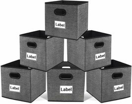 Cloth Storage Bins,Flodable Cubes Box Baskets Containers Organizer for D... - €25,00 EUR+