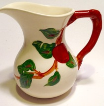 Franciscan Milk Pitcher Earthenware England Apple Pattern 28 oz Vintage ... - $21.78
