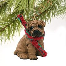 Conversation Concepts Shar Pei Brown Original Ornament - $14.69