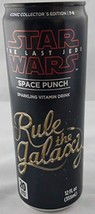 Star Wars The Last Jedi Fruit Punch RULE THE GALAXY 12oz Can 2018 - $8.81