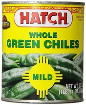 Hatch Chile Company Hatch Whole Green Chilies, 27-Ounce Pack Of 1