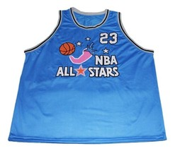 Michael jordan  23 all stars new men basketball jersey blue   1 thumb200