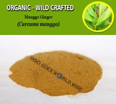 POWDER Mango Ginger Curcuma Mangga Curcuma Amada Organic Wild Crafted Fresh Herb - $7.85+