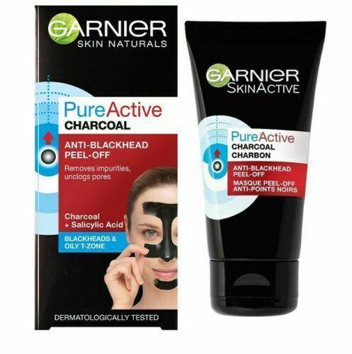 Garnier Pure Active Charcoal Anti-Blackhead Peel-Off Face Care 50 ml - $12.42