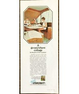 1968 Starcraft Camping Trailers PRINT AD A Go-Anywhere Cottage  - $10.69